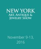 9 – 13 November, Art, Antique & Jewelry Show, New York 2016
